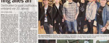 Sensationell: Presseartikel über 20 Johre LOS ROCKOS